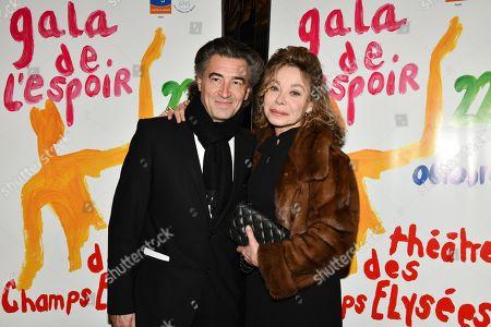 Jean-Pierre Jacquin and Grace de Capitani