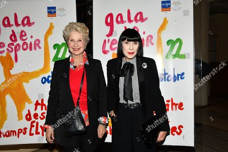 Editorial picture of Gala for Hope de l'Espoir, Theatre des Champs-Elysees, Paris, France - 22 Oct 2019