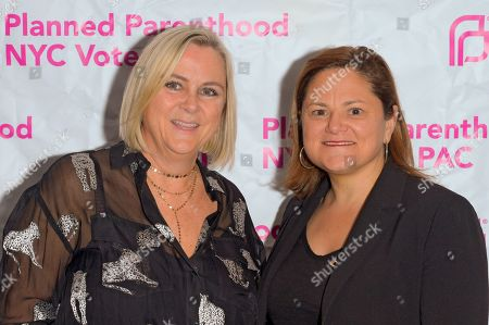 Laura McQuade and Melissa Mark-Viverito