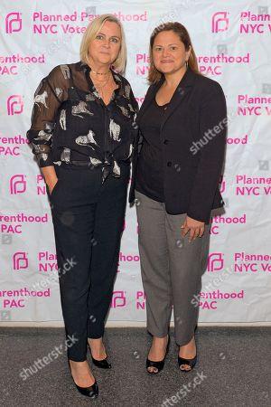 Stock Picture of Laura McQuade and Melissa Mark-Viverito