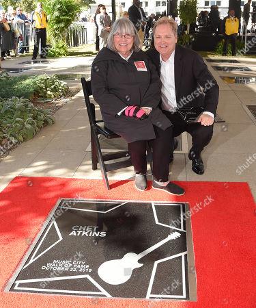 Merle Atkins and Steve Wariner