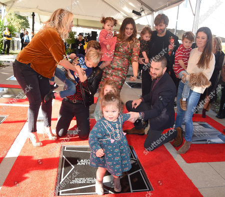Lady Antebellum, Charles Kelley, Hillary Scott, Dave Haywood and Family
