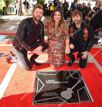 Lady Antebellum, Charles Kelley, Hillary Scott and Dave Haywood
