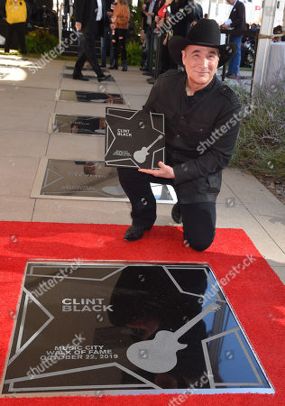 Editorial picture of Music City Walk of Fame Induction ceremony, Tennessee, USA - 22 Oct 2019