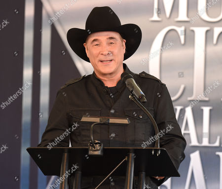 Editorial image of Music City Walk of Fame Induction ceremony, Tennessee, USA - 22 Oct 2019
