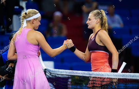 Editorial image of WTA Elite Trophy, Tennis tournament, Zhuhai, China - 23 Oct 2019