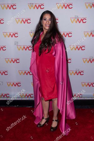 Stock Picture of Maysoon Zayid attends the 2019 Women's Media Awards, hosted by The Women's Media Center, at the Mandarin Oriental New York, in New York