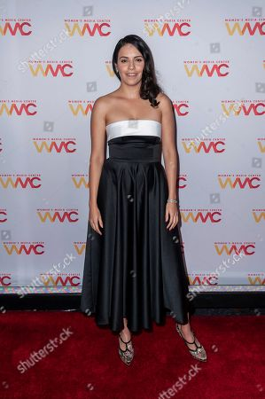 Olga Segura attends the 2019 Women's Media Awards, hosted by The Women's Media Center, at the Mandarin Oriental New York, in New York