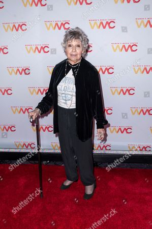 Stock Picture of Robin Morgan attends the 2019 Women's Media Awards, hosted by The Women's Media Center, at the Mandarin Oriental New York, in New York