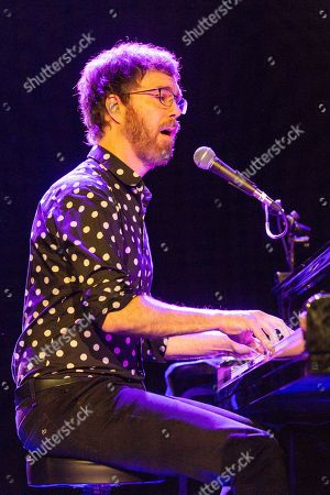 Editorial picture of Ben Folds in concert at The Sylvee, Madison, USA - 20 Oct 2019