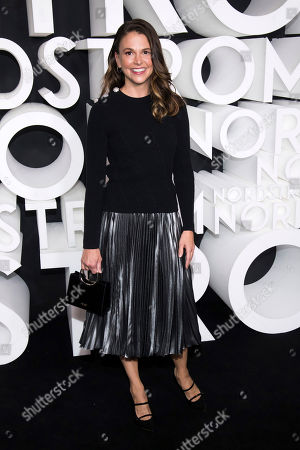 Sutton Foster attends the Nordstrom NYC Flagship store opening party, in New York