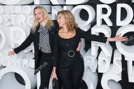 Jessica Seinfeld, Ali Wentworth. Ali Wentworth, left, and Jessica Seinfeld attend the Nordstrom NYC Flagship store opening party, in New York