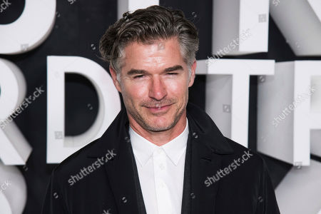 Eric Rutherford attends the Nordstrom NYC Flagship store opening party, in New York