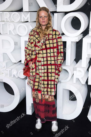 Hanne Gaby Odiele attends the Nordstrom NYC Flagship store opening party, in New York