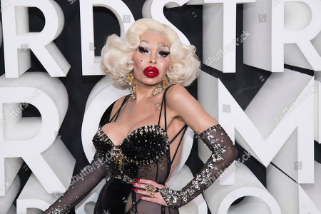 Amanda Lepore attends the Nordstrom NYC Flagship store opening party, in New York