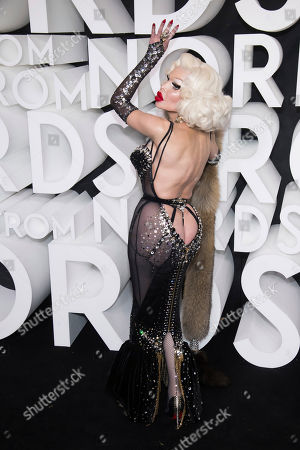 Stock Picture of Amanda Lepore attends the Nordstrom NYC Flagship store opening party, in New York
