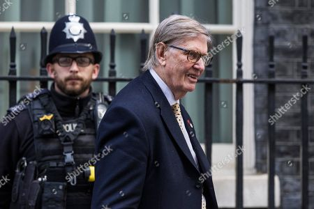 Bill Cash at Wathdrawal Agreement Bill Cabinet Meeting at Downing Street