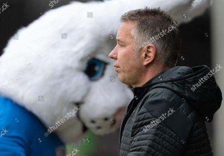 Stock Image of Peterborough United Manager Darren Ferguson
