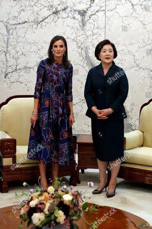 Editorial image of Spanish royals visit South Korea, Seoul - 23 Oct 2019
