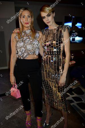 Laura Pradelska and Cara Delevingne