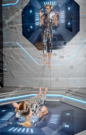 Editorial image of Samsung Space Selfie launch party, SamsungKX, London, UK - 23 Oct 2019