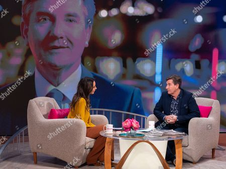 Editorial photo of 'Lorraine' TV show, London, UK - 23 Oct 2019