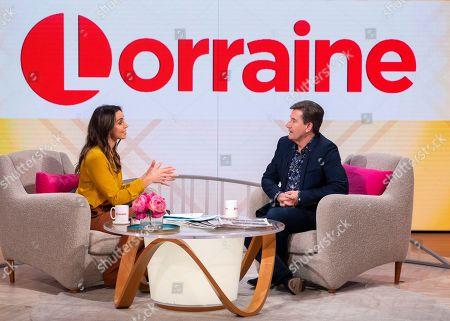 Christine Lampard and Daniel O'Donnell