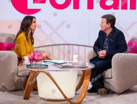 Editorial image of 'Lorraine' TV show, London, UK - 23 Oct 2019