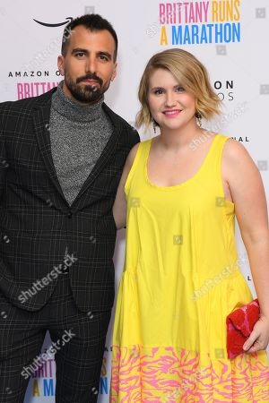 Stock Photo of Paul Downs Collaizo and Jillian Bell