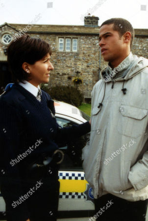 Ep 2949 Friday 29th June 2001 As Richie prepares to leave the village, he says his goodbyes to Angie. With Angie Reynolds, as played by Freya Copeland ; Richie Carter, as played by Glenn Lamont.
