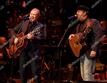 Steve Wariner and Garth Brooks