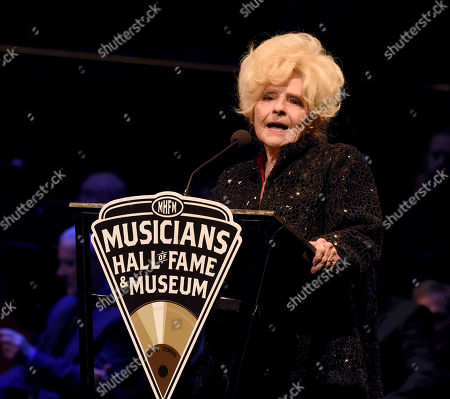 Editorial image of Musicians Hall of Fame Ceremony and Induction Concert, Nashville, USA - 22 Oct 2019