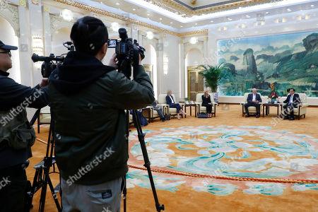 Editorial photo of Former United States Secretary of the Treasury Henery Paulson visits China, Beijing - 23 Oct 2019