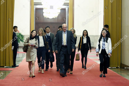 Editorial picture of Former United States Secretary of the Treasury Henery Paulson visits China, Beijing - 23 Oct 2019