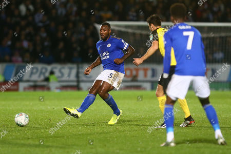 Stock Photo of Leicester's Wes Morgan