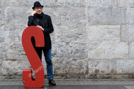 Goran Paskaljevic poses for the photographers as he presents the film 'Despite de Fog' during the 64th Valladolid International Film Festival (Seminci), in Valladolid, Spain, 23 October 2019. The Seminci Film Festival runs from 19 to 26 October 2019.