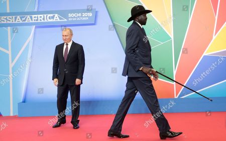 Editorial photo of Russia-Africa Summit and Economic Forum in Sochi, Russian Federation - 23 Oct 2019