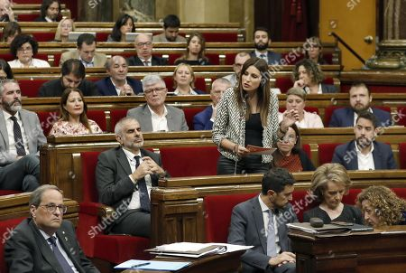 Editorial image of Question time at Catalan regional Parliament, Barcelona, Spain - 23 Oct 2019