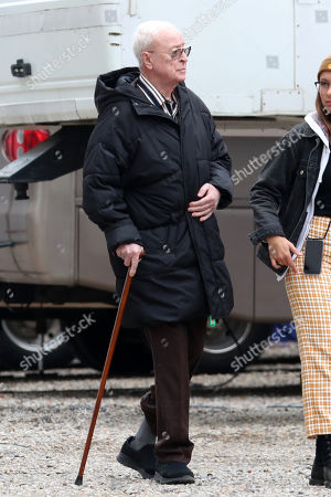 Editorial image of 'Twist' on set filming, London, UK - 23 Oct 2019