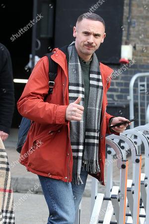 Editorial photo of 'Twist' on set filming, London, UK - 23 Oct 2019