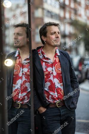 Editorial image of Oliver Bullough photoshoot, London, UK - 02 Oct 2019