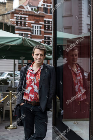 Stock Picture of Oliver Bullough the author of 'Moneyland' in Knightsbridge, London