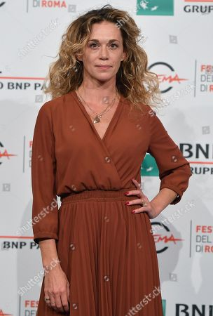 Milena Mancini poses during a photocall for 'Il terremoto di Vanja - Looking for Cechov' at the 14th annual Rome Film Festival, in Rome, Italy, 23 October 2019. The film festival runs from 17 to 27 October.The film festival runs from 17 to 27 October.