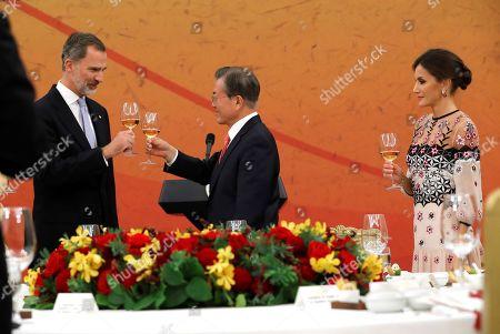 Editorial picture of King Felipe VI of Spain visits Seoul, Korea - 23 Oct 2019