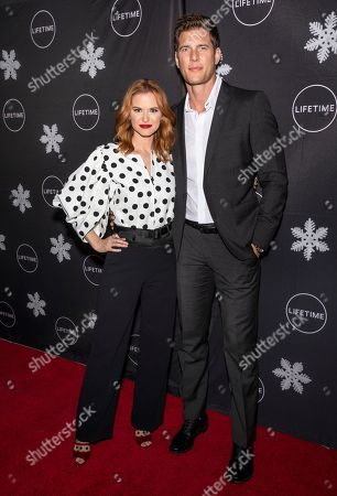 Stock Picture of Sarah Drew and Ryan McPartlin