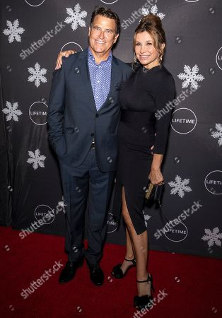 Ted McGinley and Gigi Rice