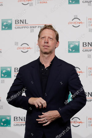 """Director Matt Tyrnauer poses during the photo call of the movie """"Where's My Roy Cohn ?"""", at the 14th edition of the Rome Film Festival"""
