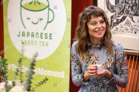 "Stock Picture of Girlboss Sophia Amoruso was the special guest speaker at ""Tea in the Moment,"" an event celebrating the wellness benefits of Japanese Green Tea, at the Japan Society in New York. Amoruso turns to Japanese Green Tea to boost mindfulness to help her work smarter with less stress. Go here to learn more: https://greentea-jfoodo.jetro.go.jp in New York"