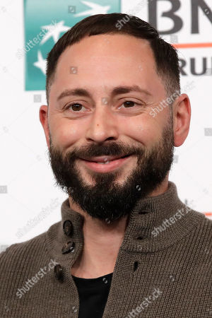 """Actor Matias Varela poses during the photo call of the movie """"438 Dagar"""", at the 14th edition of the Rome Film Festival"""