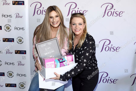 Editorial photo of Poise® Brand and The Moms celebrate Melissa Joan Hart's new holiday Lifetime movie, Los Angeles, USA - 22 Oct 2019